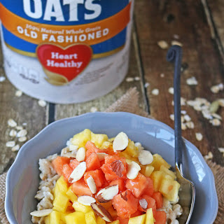 Tropical Oatmeal Bowl