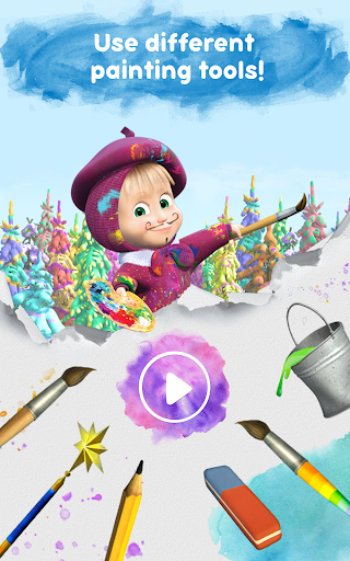 Masha and the Bear: Free Coloring Pages for Kids 1.0.3 screenshots 16