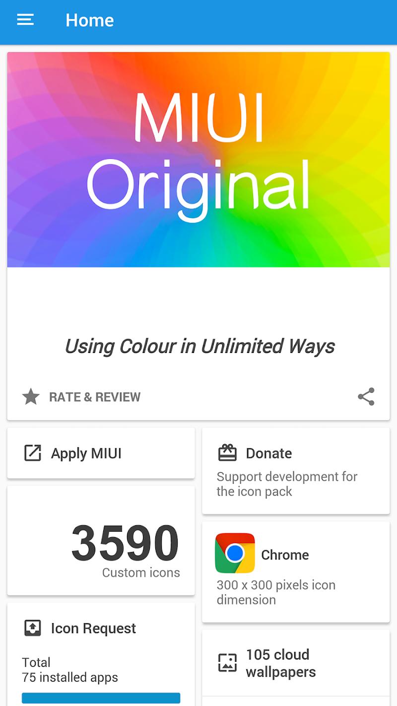 MIUI ORIGINAL - ICON PACK Screenshot 6