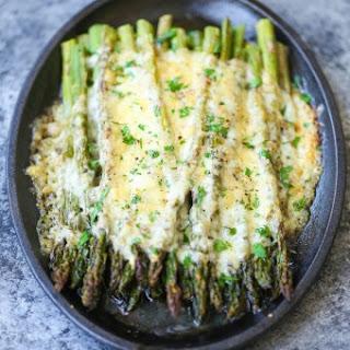 Cheesy Asparagus Gratin