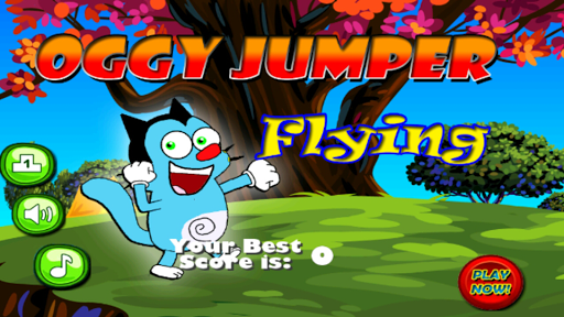 Oggy Jumper Flying Fun