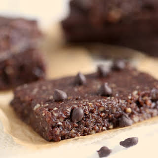 Chocolate Chip Brownie Energy Bars.