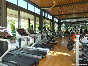 Photo: #015-Le fitness du Vineyard Hotel & Spa à Cape Town.