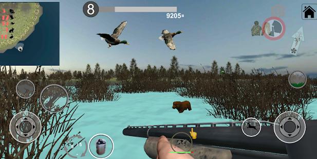 Hunting Simulator Game: decoy calls. Full version. Mod