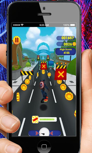 Captain Hero Subway Run Rush 2.0 screenshots 9