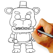How To Draw Five Nights