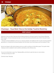 Chutneys Indian Takeaway in Bletchley- screenshot thumbnail