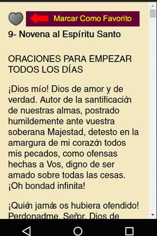 Mi Devocionario de Oraciones- screenshot