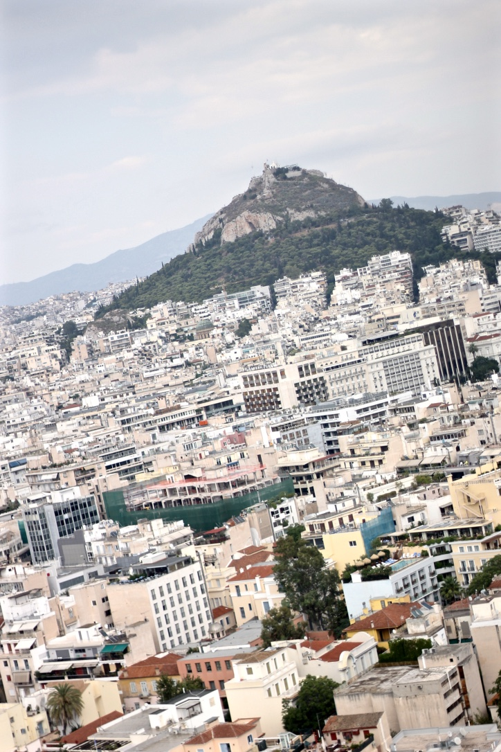 View of Athens Greece from ACropolis