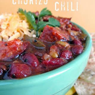 Chorizo Chili.