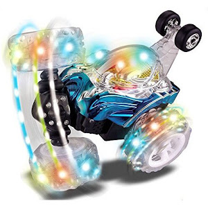 Masina acrobatica cu telecomanda si lumini