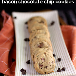 Double Peanut Butter Bacon Chocolate Chip Cookies.