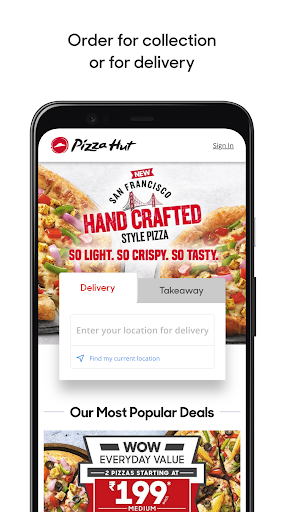 Pizza Hut India – Pizza Delivery – Order Food 8.0.72 screenshots 1
