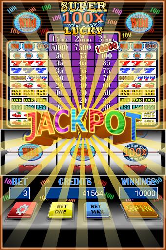 100x 超級幸運老虎機|玩博奕App免費|玩APPs