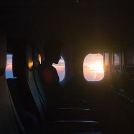 Morning Flights by Wan Hafizuddin Wan Darman - Novices Only Street & Candid ( urban, other, location, shadow, malaysia, sunrise, travel, kuala lumpur, golden hour )
