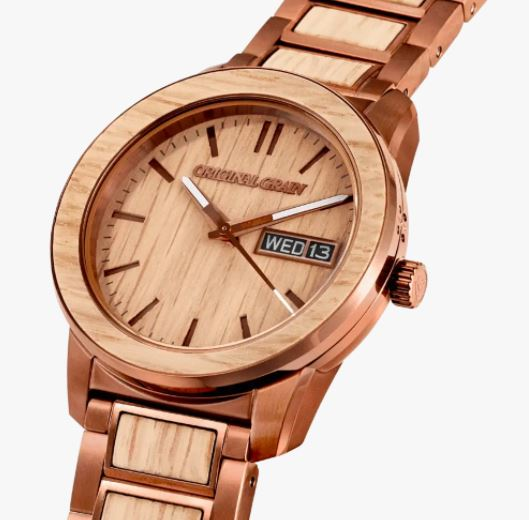 Whiskey Espresso Barrel, Original Grain Watches Review