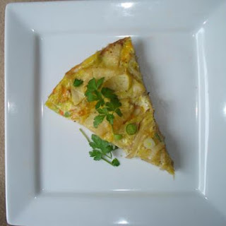 Apple and Potato Fritatta