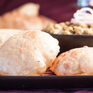 Puri Recipe (Puffed Fried Indian Bread).