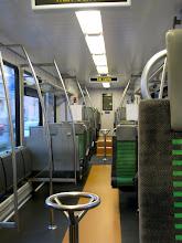 Photo: Bizarre: j'ai pris le train à Morges, puis le M2, mais quand je monte dans le LEB il n'y a personne….