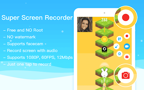 Super Screen Recorder–No Root REC & Screenshot Screenshot