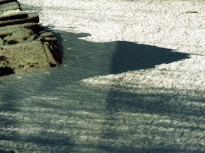 Photo: Skygge i sneen, Lyngsøvej, Silkeborg