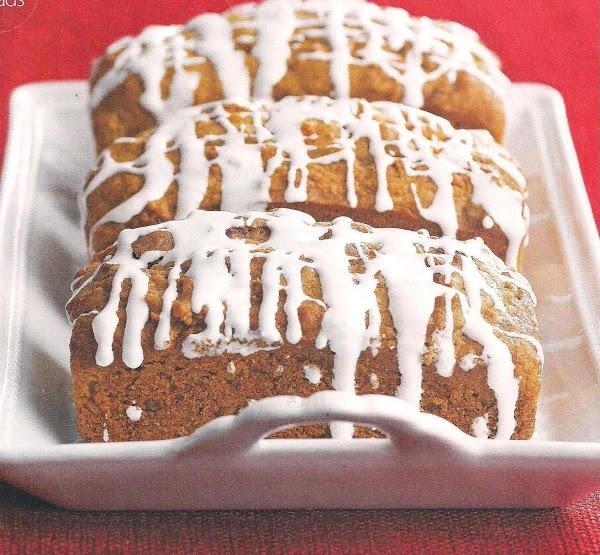 Sweet Potato Pie Bread With Marshmallow Glaze Recipe