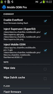 [root] Mobile ODIN Pro 4.20 Android Mod + APK + Data 2