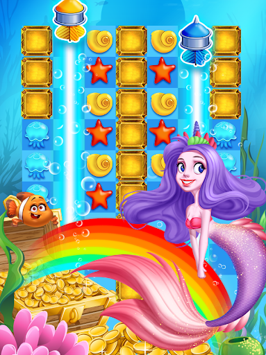 Ocean Mermaid Blast - screenshot