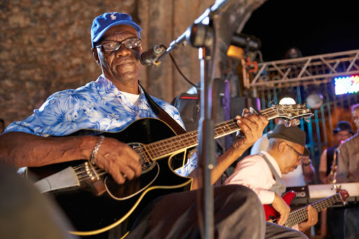 DR-Band-on-Stage.jpg - See local musicians while visiting the Dominican Republic.