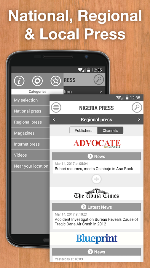 Nigeria Press- screenshot