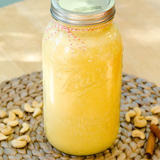 Pumpkin Spice Cashew Milk {Gluten-Free, Vegan & Paleo}