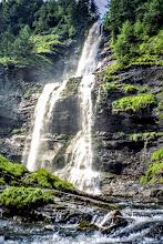 """Photo: Cascade du Rouget bei Samoens, Hochsavoyen """"lebendiges Wasser"""" Toureninfos:  http://pagewizz.com/liste-wanderungen-und-ausfluege-in-hochsavoyen-frankreich/"""