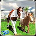 Wild Pony Horse Simulator 3D icon