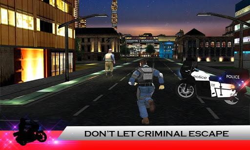 Police Moto: Criminal Chase screenshot 1