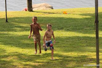 Photo: Kids playing near the beach at Boulder Beach State Park by Lene Gary