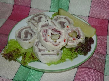 Pinwheel Appetizers Recipe
