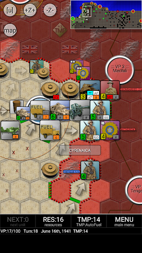Rommel & Afrika Korps (free)  screenshots 5