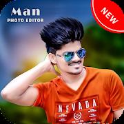 Man photo editor