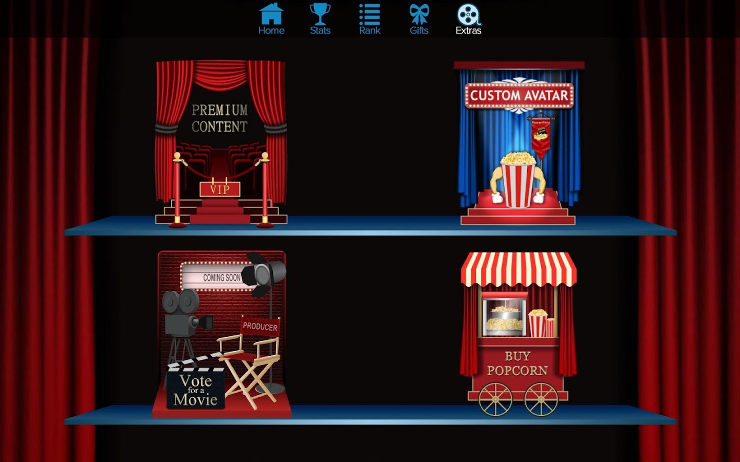 PopcornTrivia- screenshot