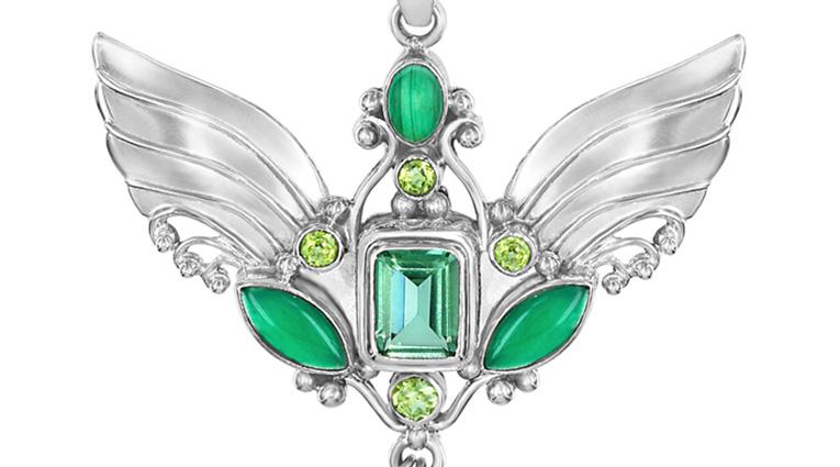 archangel raphael pendent jewelry