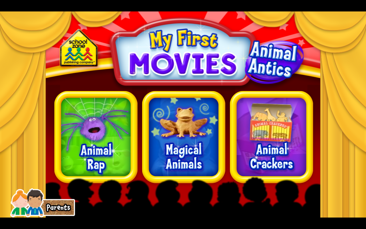 My First Movies: Animal Antics- screenshot