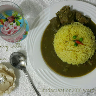 Beef Gravy with Pulao