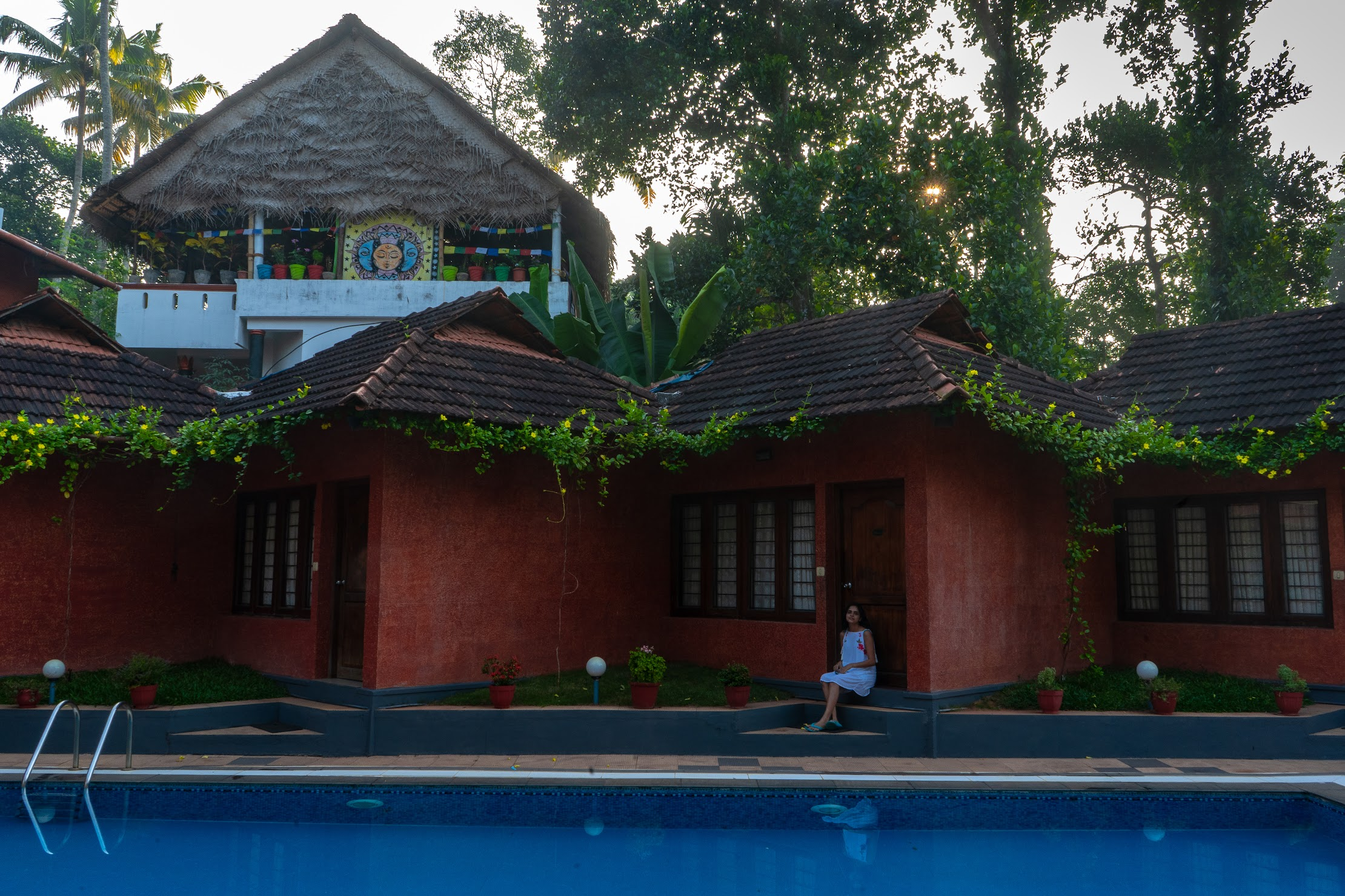 Our resort in Varkala