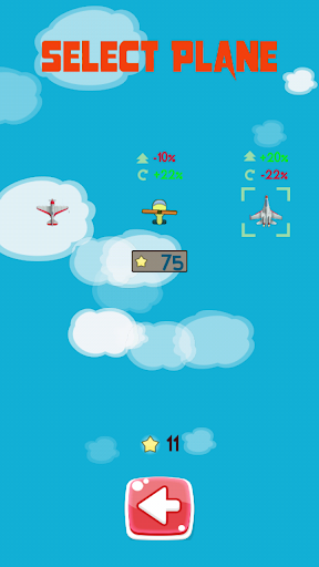 Plane escape missile - Attack missiles screenshot 2