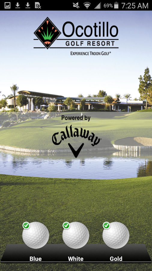 Ocotillo Golf Resort- screenshot