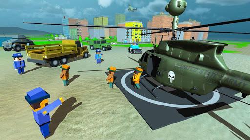 Blocky Vegas Crime Simulator:Prisoner Survival Bus image   3