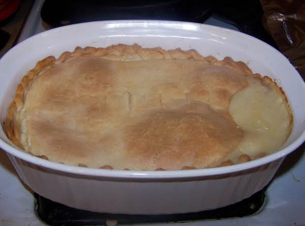 Chicken Pot Pie Made With Store Bought Crust
