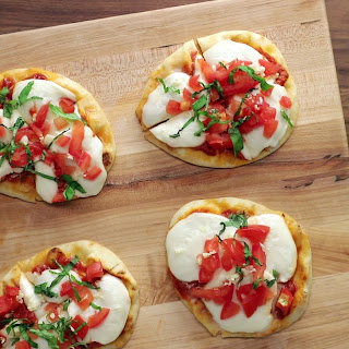Margherita Naan Pizzas Recipe