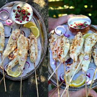 Chicken Malai Kebabs
