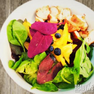 Double Spinach Chicken Salad Recipe.